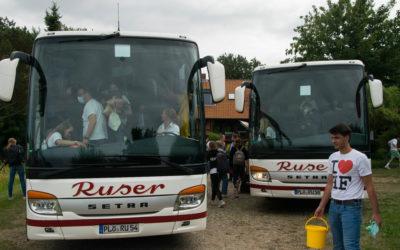Ankunft in Hohenfelde!